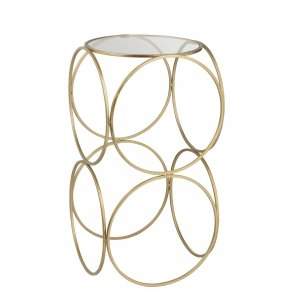 Side Table metal/gold